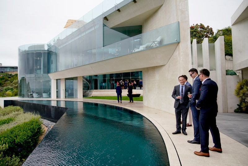 The Razor House Open House From 'Million Dollar Listing Los Angeles.'
