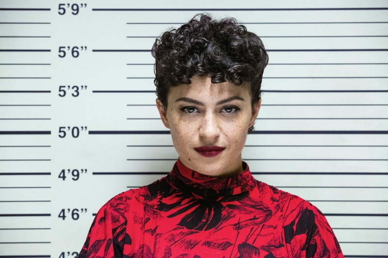 Alia Shawkat in Search Party via the Warner Media press site
