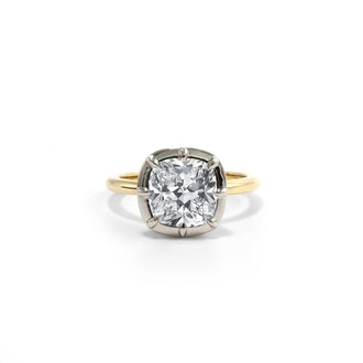 Collet Engagement Ring