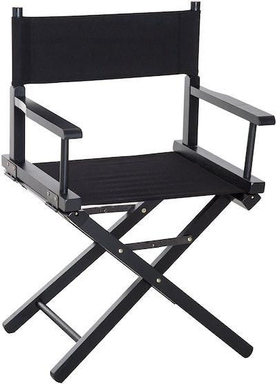HOMCOM Beech Wooden Folding Director Chair