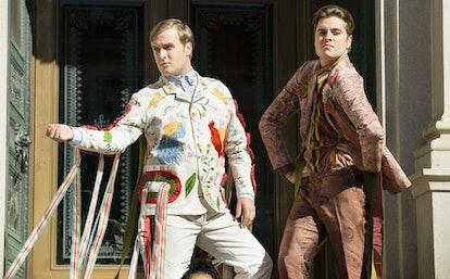 John Early (Elliot) and Jeffery Self (Marc) in 'Search Party' Season 3