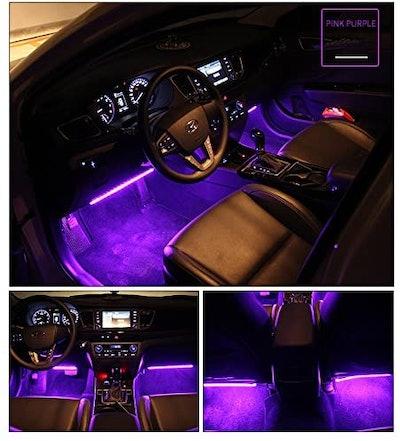 wsiiroon Car LED Strip Light,