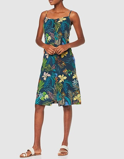 find. Tropical A-Line Dress
