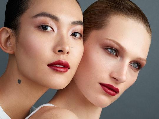Westman Atelier's New Eye Pods eyeshadow on models.