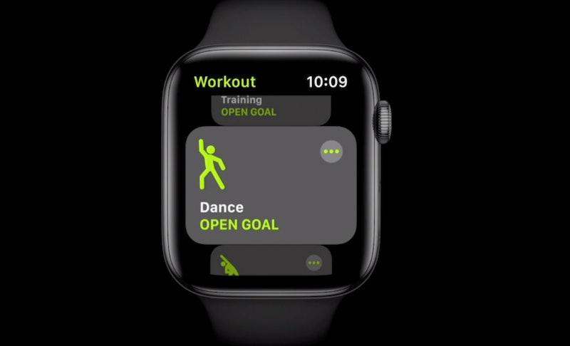 A dance workout on apple watch watch OS7