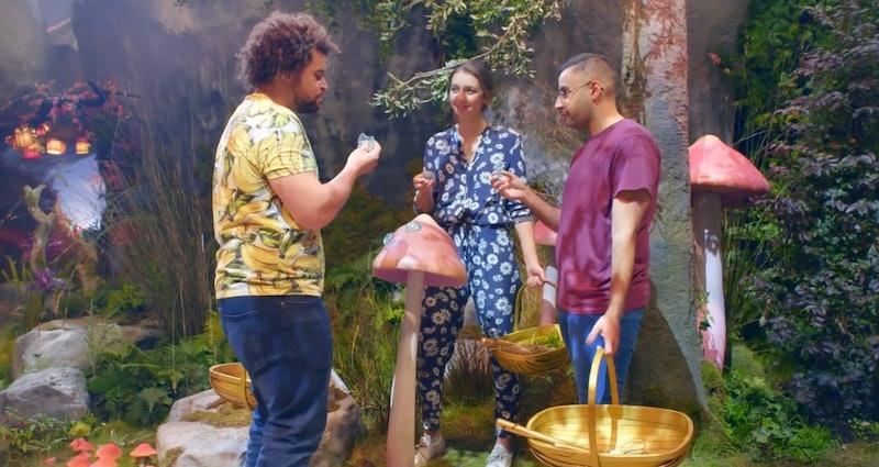 'Crazy Delicious' Season 1 contestants Adam, Hannah, and Hardeep