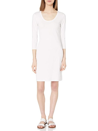 Daily Ritual Long-Sleeve Stretch Dress