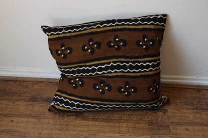 Authentic Mud Cloth Pillow Cover