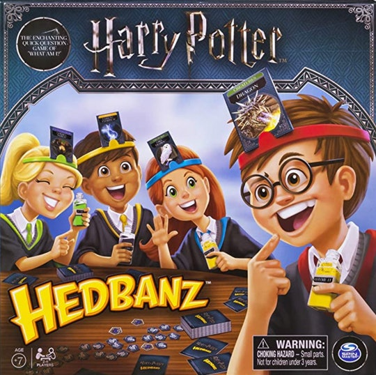 The 'Harry Potter' Hedbanz game is perfect for your whole Potter-loving family.