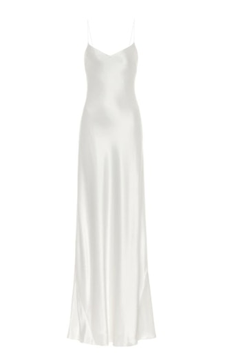 Malibu Satin Maxi Bridal Dress