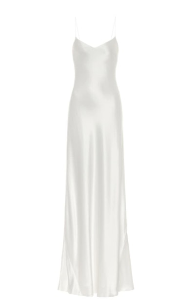 Malibu Satin Maxi Bridal Dress