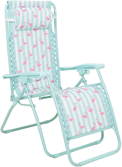 Mountain Warehouse Reclining Garden Sun Lounger Chair
