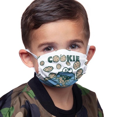 Sesame Street Cookie Crumble Mask
