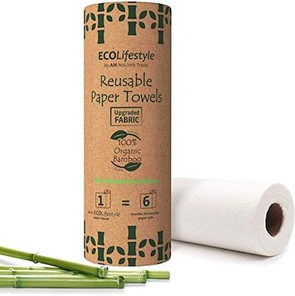 AM NOLIMIT TRADE Bamboo Reusable Paper Towels (20 Sheets)