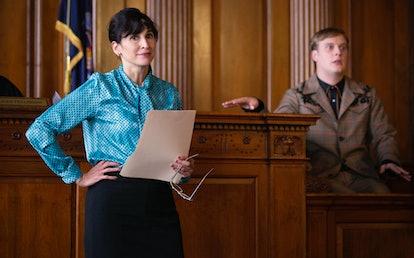 Michaela Watkins and John Early in 'Search Party' Season 3