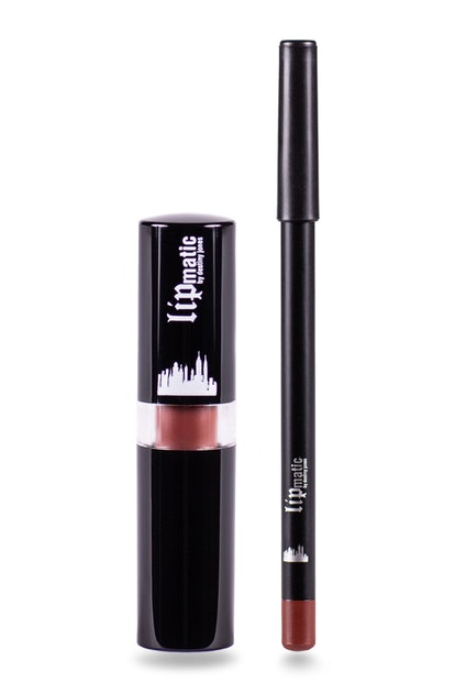 Downtown True Brown - Lipstick and Liner Set