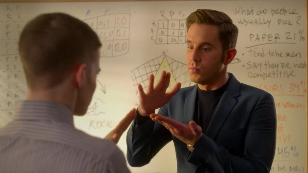 'The Politician' Season 2 goes deep into rock-paper-scissors strategy.