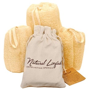 CraftsofEgypt All-Natural Loofah Sponges (Set of 3)