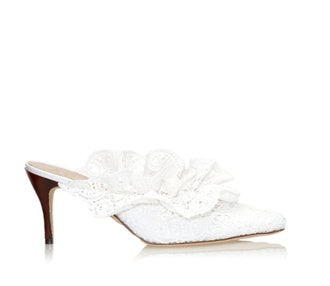 Stell Mule in Lagos Lace
