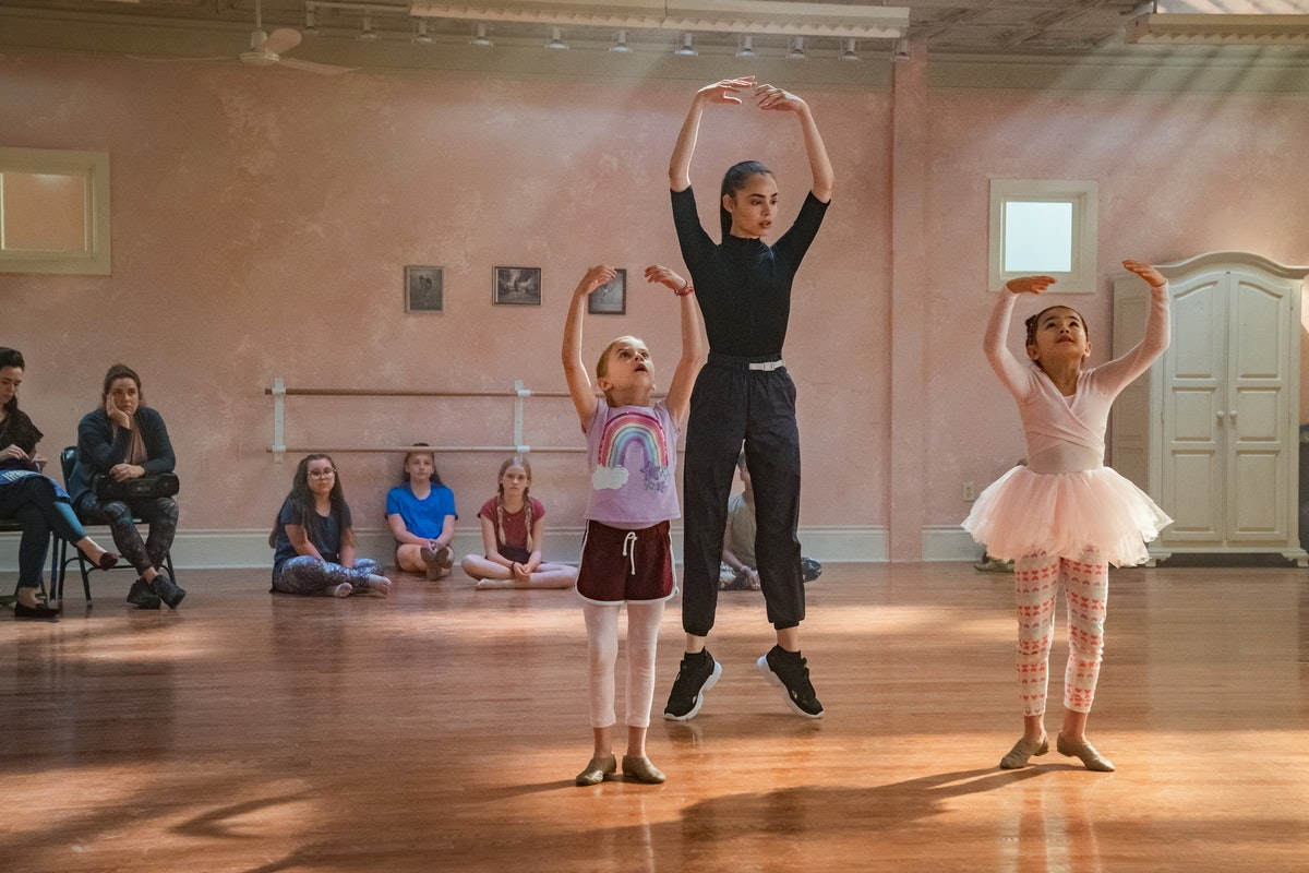 Sofia Carson used a dance double in 'Feel the Beat' on Netflix.