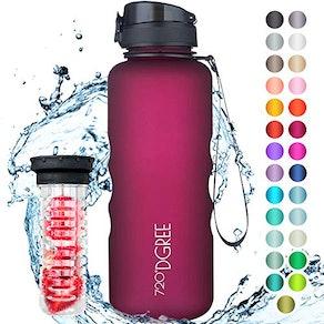 """720°DGREE Water Bottle""""uberBottle"""" +Fruit Infuser"""