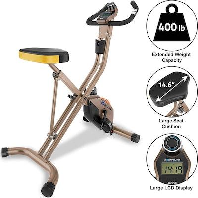 Exerpeutic Gold Heavy Duty Exercise Bike