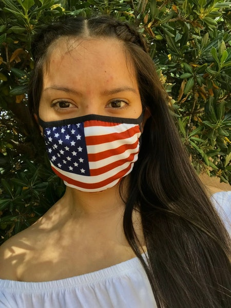 July 4th Face Mask