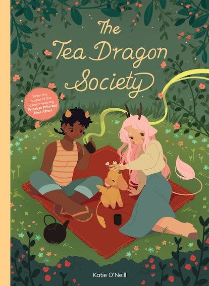 The Tea Dragon Society cover