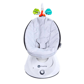 4moms mamaRoo 4 Bluetooth Enabled High-Tech Baby Swing – Classic