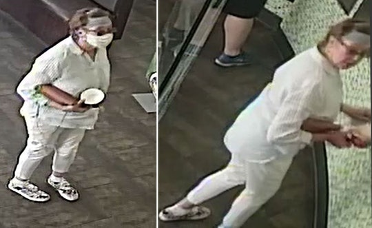 Police in San Jose, California, are seeking a woman who coughed on a baby after arguing with the chi...