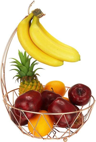Rosyline Fruit Basket With Banana Hanger