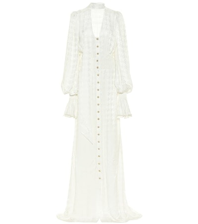 Houndstooth Maxi Dress