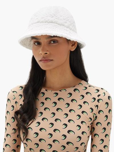 Cotton Terry Bucket Hat