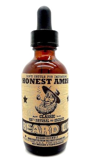 Honest Amish Classic Beard Oil (2 Ounces)