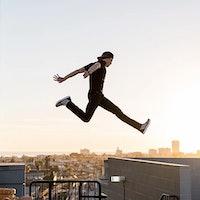 Parkour legend Jesse La Flair talks 360 cameras, Linkin Park, and UFO pants