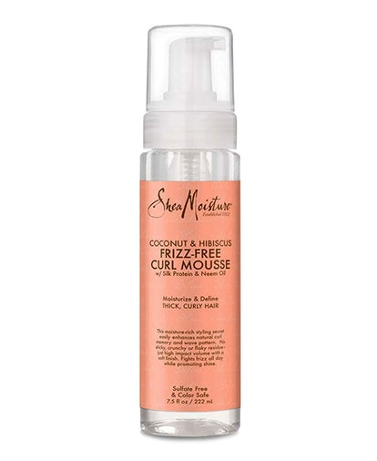 SheaMoisture Coconut & Hibiscus Frizz-Free Curl Mousse