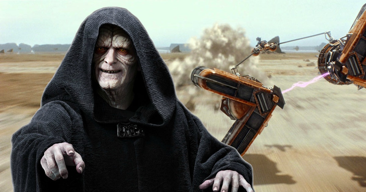 Star Wars theory: Palp's hatred of podracing reveals a threat to his power
