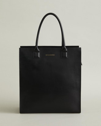 Aberdeen Leather Structured Tote