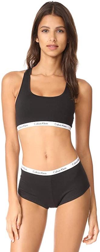 Calvin Klein Women's Carousel-Logo Bralette