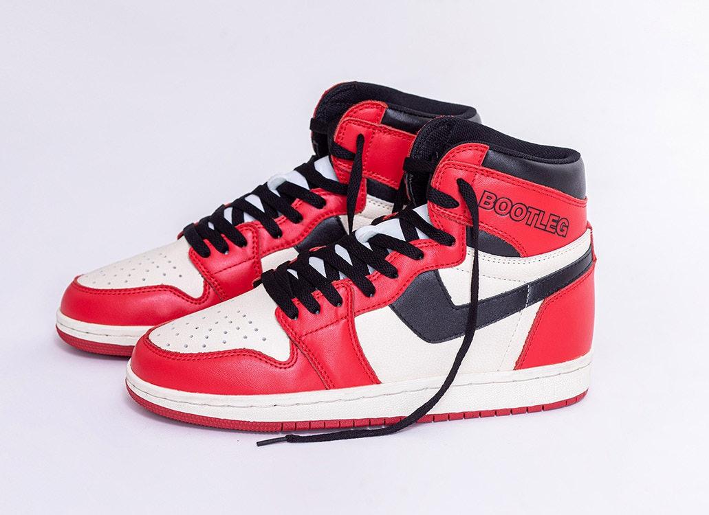 A bootleg of a bootleg Air Jordan 1? It