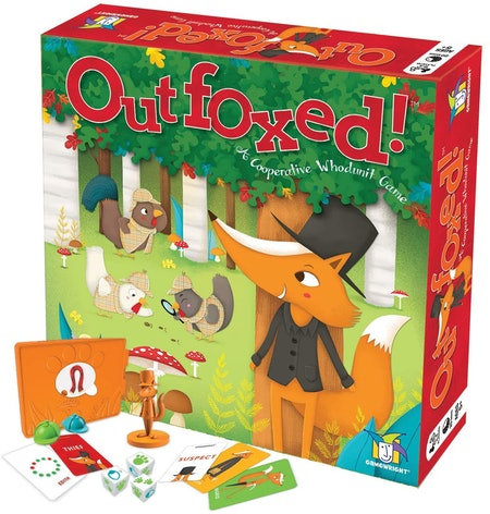 Outfoxed! A Cooperative Whodunit Game