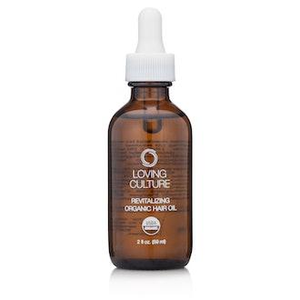 Revitalizing Organic Hair Oil