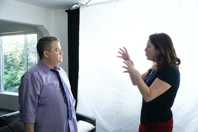 Patton Oswalt and director Liz Garbus from I'll Be Gone In The Dark via WARNER MEDIA PRESS SITE