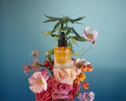 Mauvaise Herbe Indica Oil from new skincare brand Muri Lelu.