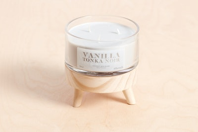 Vanilla Tonka Noir Coconut Wax Blend Candle