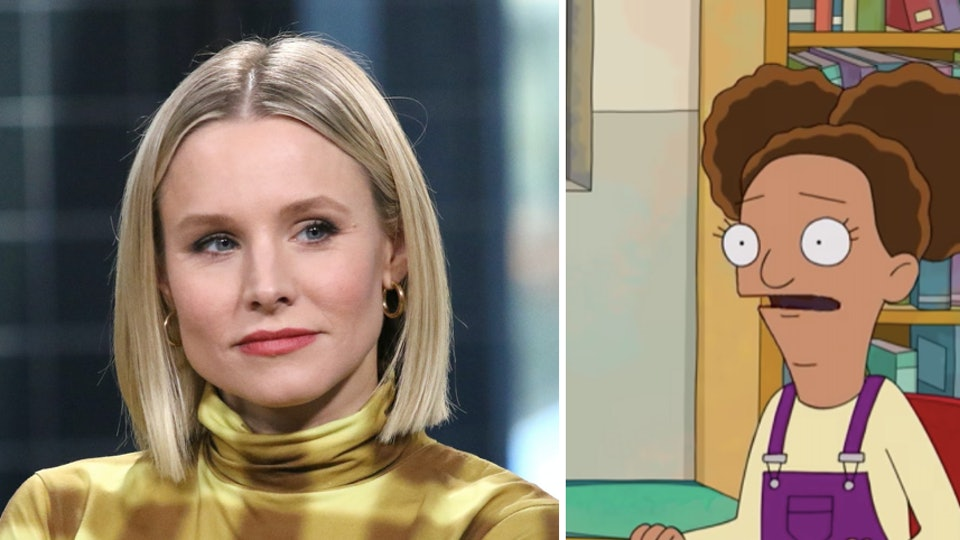 Kristen Bell will no longer be the voice of a mixed race character on 'Central Park'