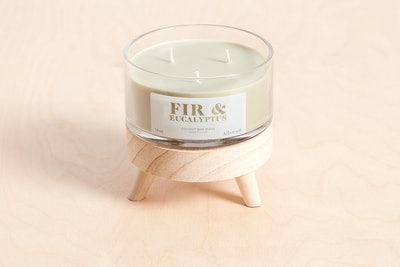 Fir and Eucalyptus Coconut Wax Blend Candle