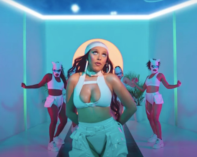 "Doja Cat in the ""Like That"" video."