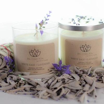 White Sage + Lavender