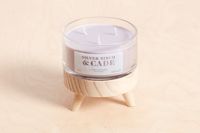 Silver Birch and Cade Coconut Wax Blend Candle